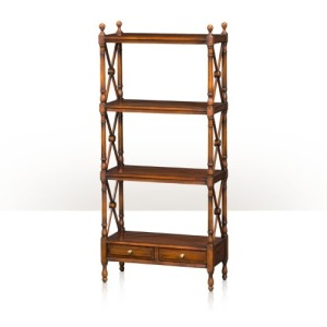 A four tier tagre Cabinetry