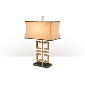 Brass Key Table Lamp