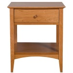 Traditional One Drawer Nightstand