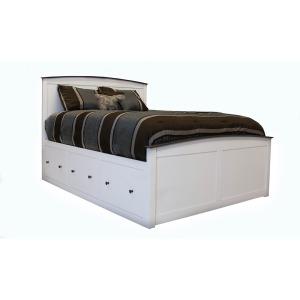 Shoreline Queen Storage Bed