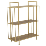 Wood & Metal Plant Stand