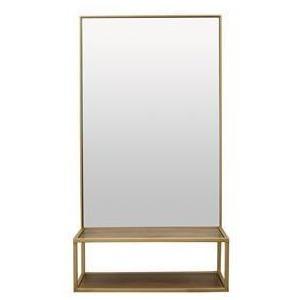 Wall Storage W/ Mirror