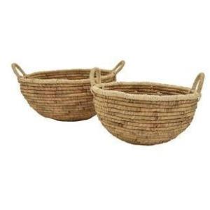 Water Hyacinth Basket - Set of 2