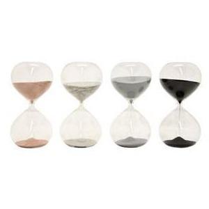 Glass Sand Timer - 4 Asst