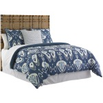 Coco Bay Panel Headboard 5/0 Queen