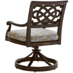 Swivel Rocker Dining Chair