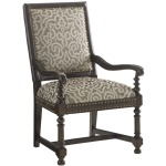 Jacqueline Leather Host Dining Chair
