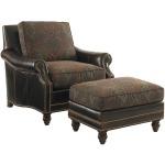 Shoal Creek Leather Chair