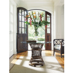 Aruba Dining Table With 36 Inch Glass Top