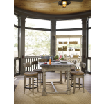 Shelter Island Bistro Table and 4 Dalton Counter Stools