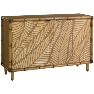 Twin Palms St. Croix Hall Chest and Freeport Square Mirror