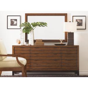 Oceania Dresser & Palm Isle Mirror