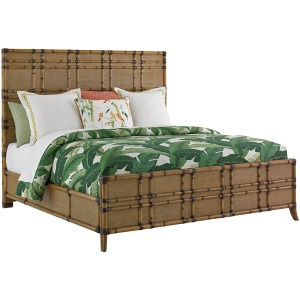 Coco Bay Panel Bed 6/6 King
