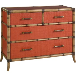 Red Coral Chest