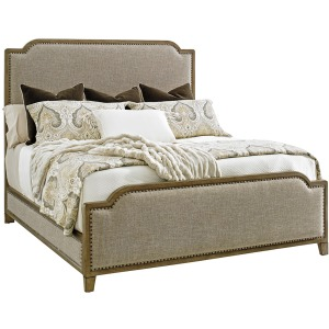 Stone Harbour Upholstered Bed 5/0 Queen