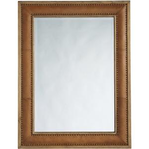 Dominica Leather Rectangular Mirror
