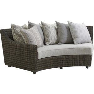 Cypress Point Ocean Terrace Curved Sectional LAF Sofa