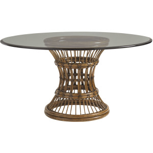 Latitude Dining Table With 60 Inch Glass Top