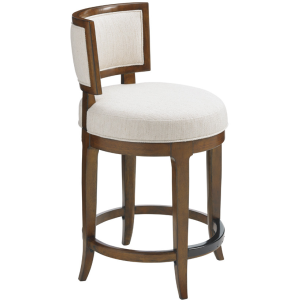 Macau Swivel Counter Stool
