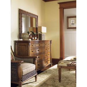 Barbados Triple Dresser & Palm Grove Mirror