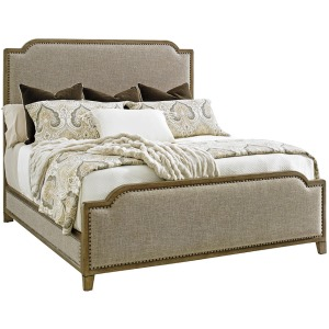 Stone Harbour Upholstered Bed 6/6 King