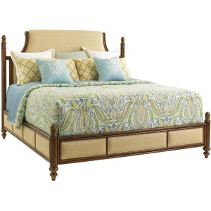 Orchid Bay Upholstered Panel Bed King King