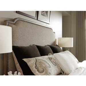 Cypress Point Stone Harbour Upholstered Headboard 6/0 California King