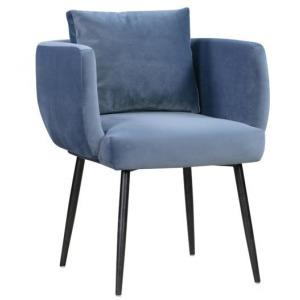 Alto Cascadia Blue Velvet Dining Chair