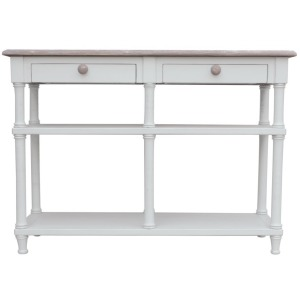Islad Hall Console Table -White/Riverwash