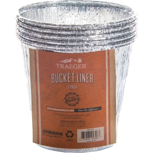 Grease Bucket Liner-5 Pack (All Full Size Grills)