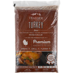 Turkey Pellet Blend & Brine Kit