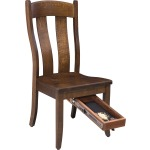 Fort Knox Side Chair - Quick Drawer