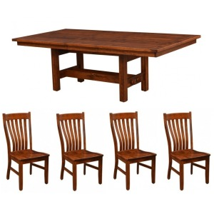Sutter Mills 5 PC Dining Set
