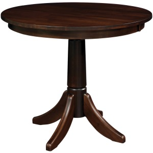 "30 Solid Top | 30"" Regular Dining Height Table"