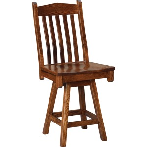 Adirondack Swivel Bar Height Stool