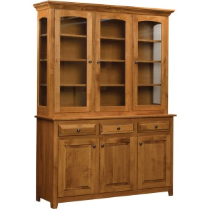 Chateau 3 Door Hutch Top