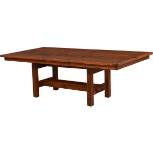 Sutter Mills 1 Leaf Trestle Table