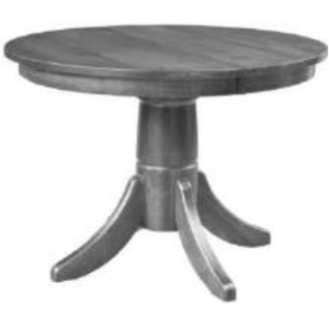 Small Space Living Pedestal Table