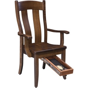 Fort Knox Arm Chair - Quick Drawer