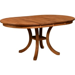 "American Relaxation 42"" Round Table w/ 2 Leaves"
