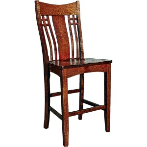 Andalusia Premium Stationary Bar Height Stool
