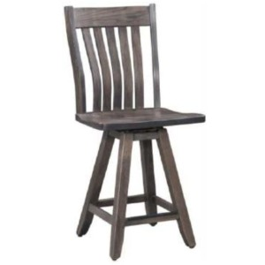 "Rocky Mountain 24"" Memory Swivel Barstool"