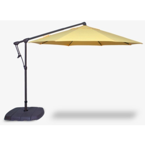 10' Octagon Cantilever Umbrella & Base