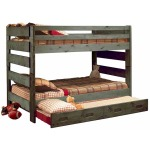 Bunkhouse Big Sky Full/Full Bunk Bed - Driftwood