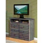 Bayview Media Chest - Driftwood
