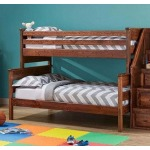 Laguna Twin/Full Bunk Bed - American Chestnut