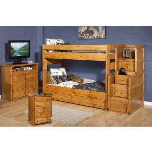 Wrangler Twin/Twin Bunk Bed