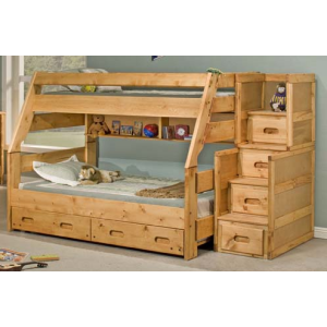 High Sierra Twin/Full Bunk Bed