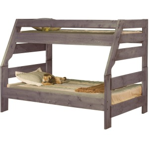 High Sierra Twin/Full Bunk Bed - Driftwood