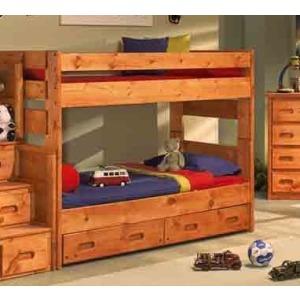 Wrangler Twin / Twin Bunk Bed